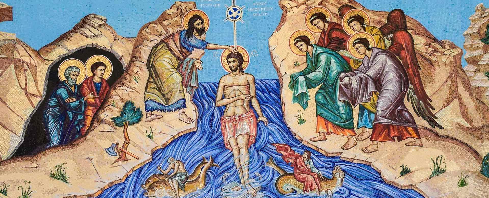 Bild Taufe von Jesus